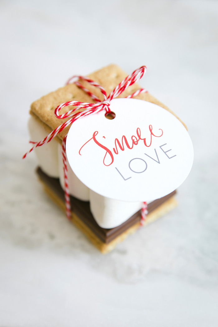 "S'more love from a ""Let it Snow"" Christmas Party on Kara's Party Ideas 