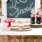 """Let it Snow"" Christmas Party on Kara's Party Ideas | KarasPartyIdeas.com (2)"
