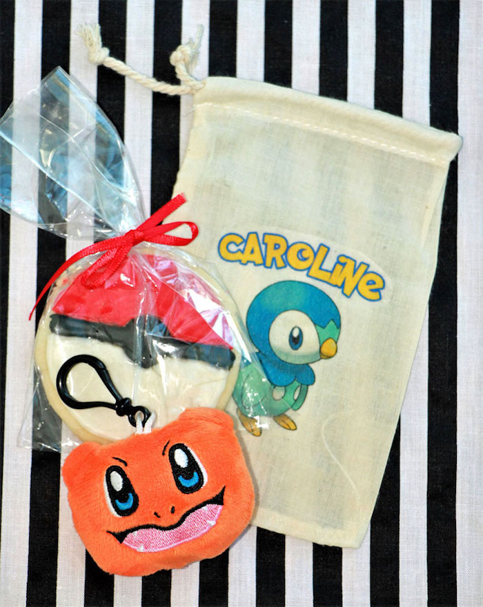 Favors from a Pokemon Birthday Party on Kara's Party Ideas | KarasPartyIdeas.com