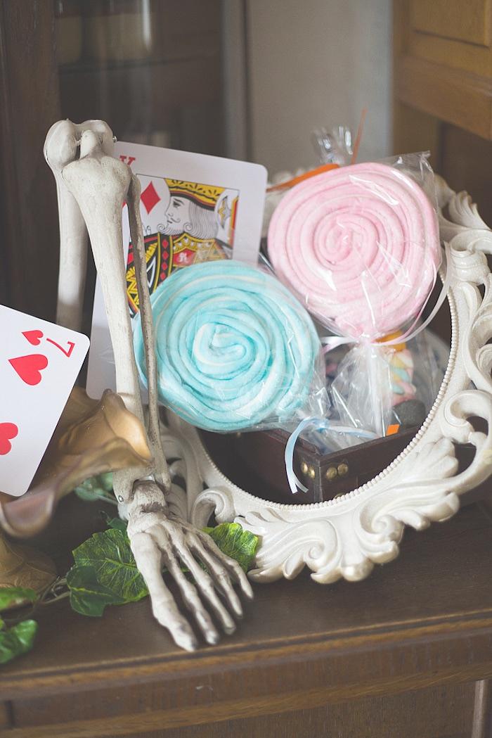 Lollipops from an Alice in Wonderland Halloween Tea Party on Kara's Party Ideas | KarasPartyIdeas.com (13)