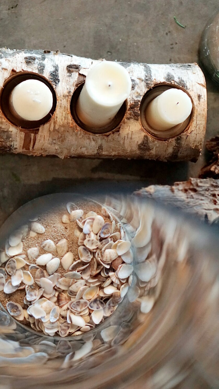 Sand and shells from an Atlantis + Ocean Inspired Wedding on Kara's Party Ideas | KarasPartyIdeas.com (5)