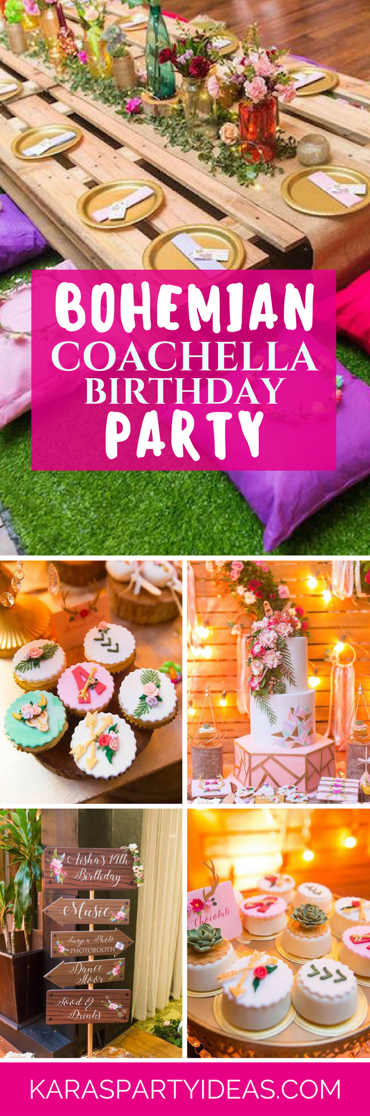 Tea time tea birthday party via kara s party ideas karaspartyideas com - Bohemian Coachella Birthday Party Via Kara S Party Ideas Karaspartyideas Com