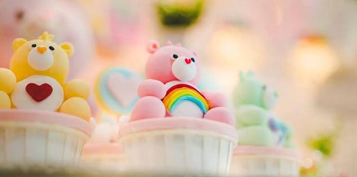Care Bear Birthday Party on Kara's Party Ideas | KarasPartyIdeas.com (4)
