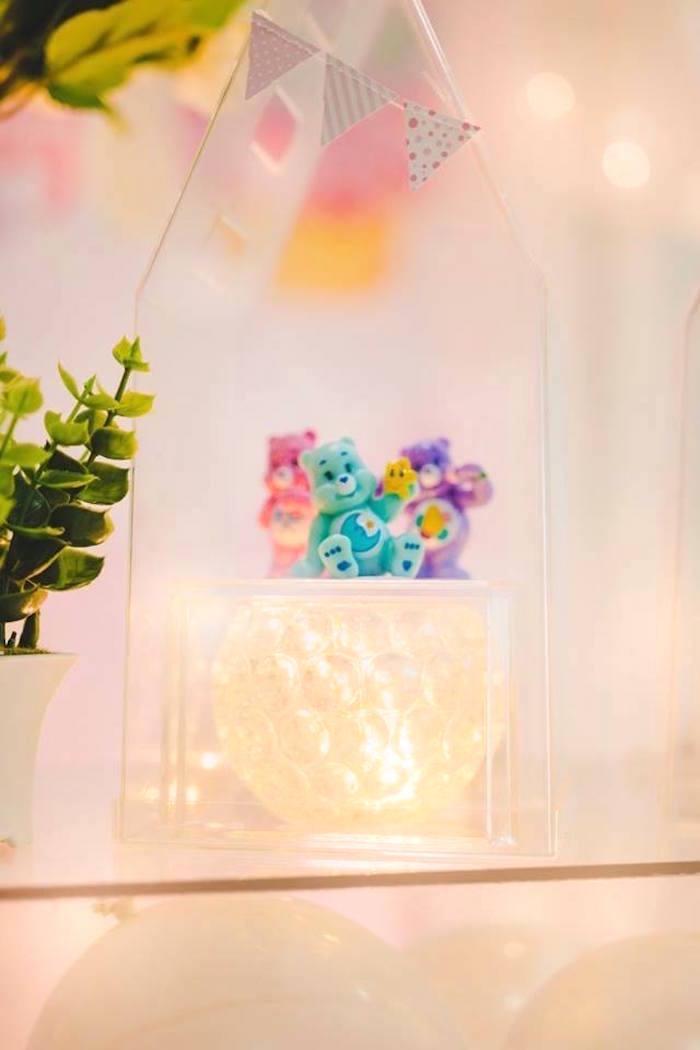 Care Bear Centerpiece from a Care Bear Birthday Party on Kara's Party Ideas | KarasPartyIdeas.com (18)