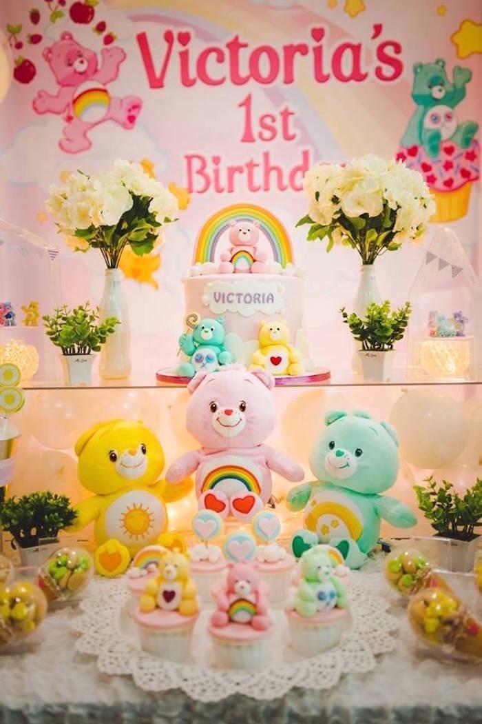 Care Bear Birthday Party on Kara's Party Ideas | KarasPartyIdeas.com (15)