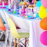 Colorful Modern 10th Birthday Party on Kara's Party Ideas   KarasPartyIdeas.com