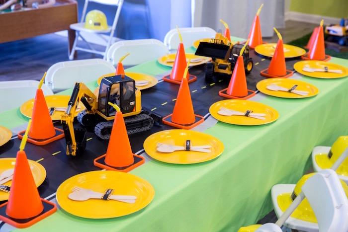 Construction 2nd Birthday Party on Kara's Party Ideas | KarasPartyIdeas.com (24)