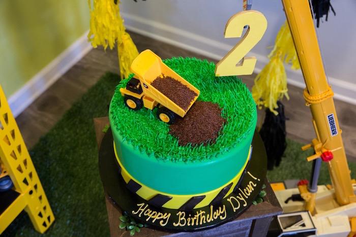 Construction 2nd Birthday Party on Kara's Party Ideas | KarasPartyIdeas.com (17)
