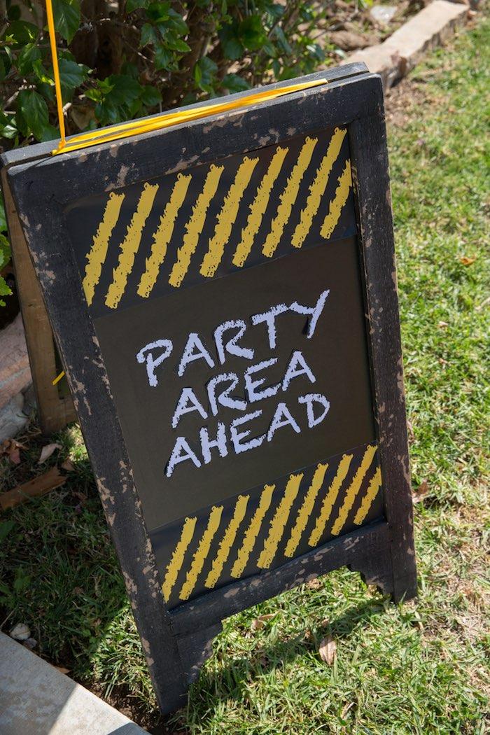 Construction 2nd Birthday Party on Kara's Party Ideas | KarasPartyIdeas.com (33)