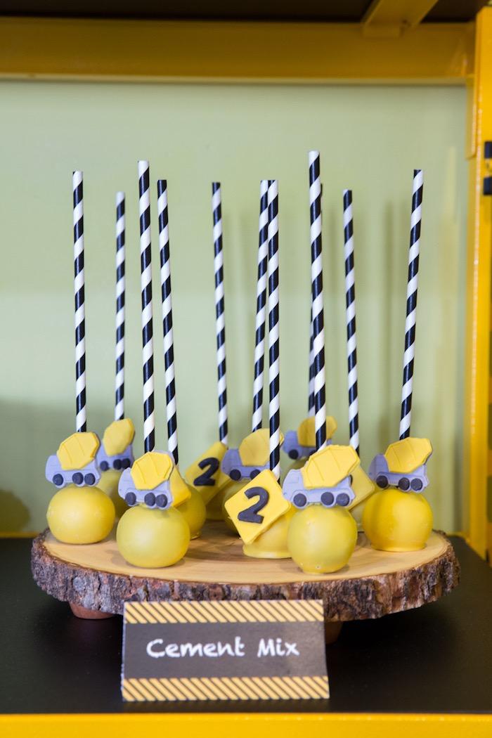 Construction 2nd Birthday Party on Kara's Party Ideas | KarasPartyIdeas.com (11)