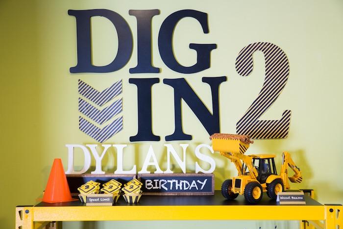 Construction 2nd Birthday Party on Kara's Party Ideas | KarasPartyIdeas.com (6)