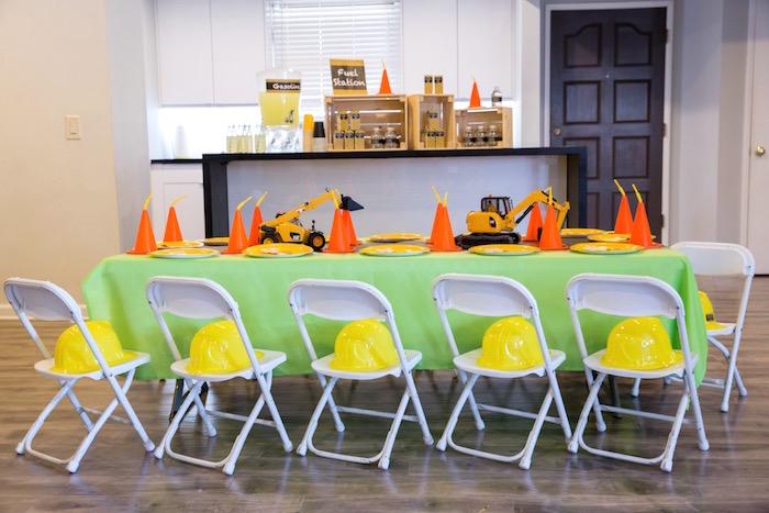 Construction 2nd Birthday Party on Kara's Party Ideas | KarasPartyIdeas.com (27)