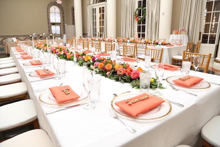 559e6959059 Kara s Party Ideas Elegant Floral Bridal Shower Brunch