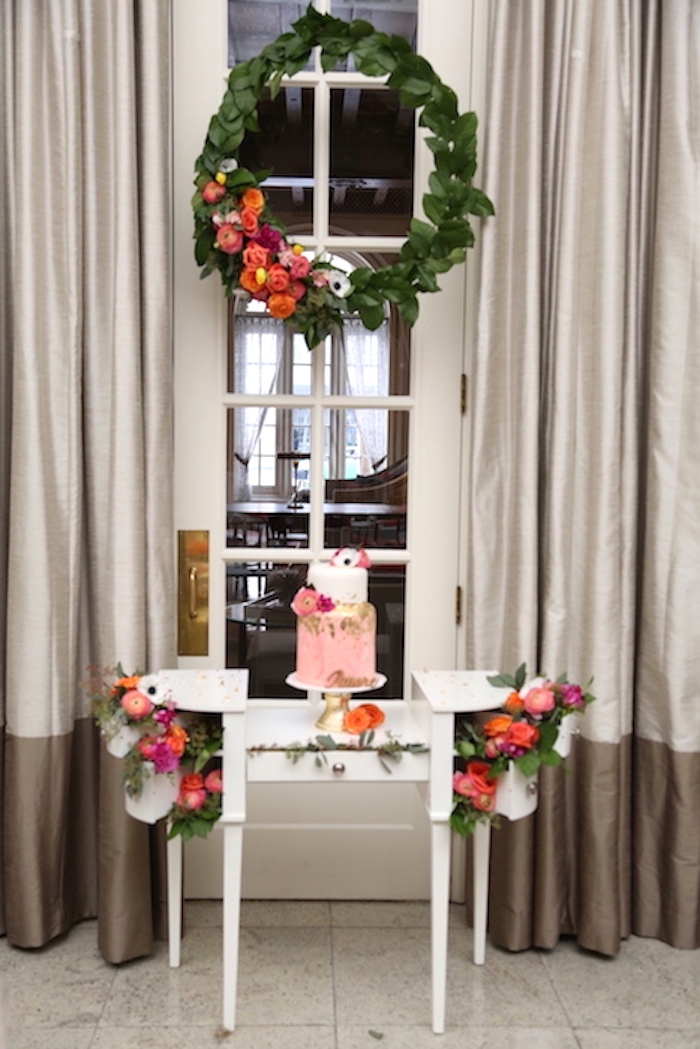 Pictures Decorating Ideas Living Room: Kara's Party Ideas Elegant Floral Bridal Shower Brunch