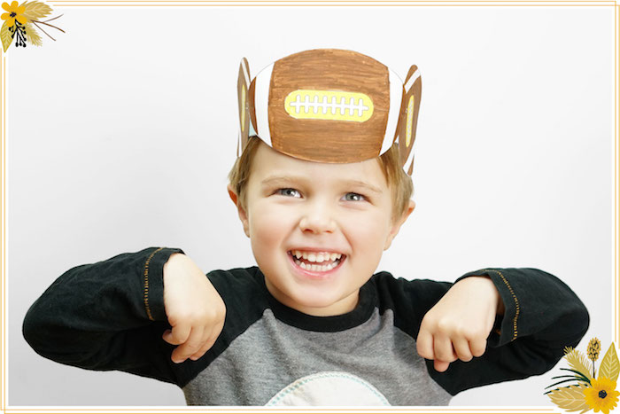 Turkey Bowl Hat from a FREE Thanksgiving Hat Printable Crafts on Kara's Party Ideas | KarasPartyIdeas.com (10)
