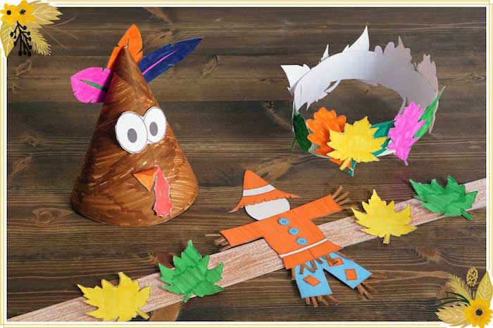 FREE Thanksgiving Hat Printable Crafts on Kara's Party Ideas | KarasPartyIdeas.com (7)