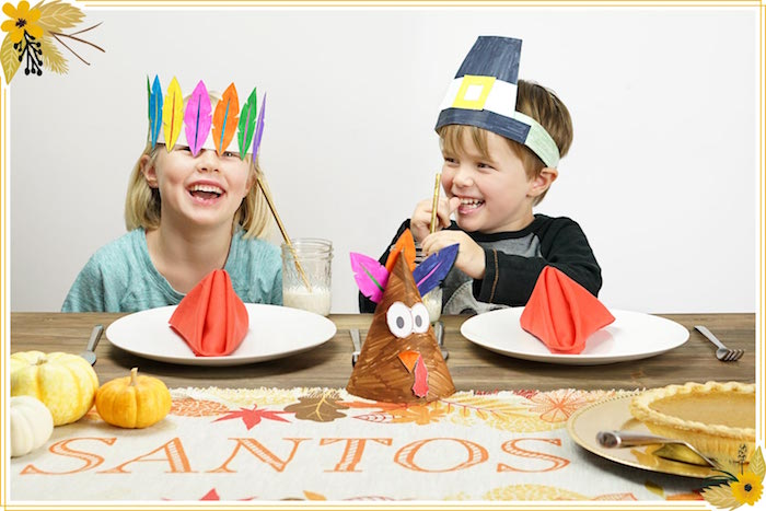 FREE Thanksgiving Hat Printable Crafts