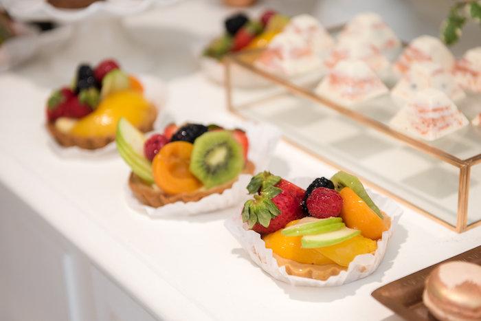 Fruit tarts from a Fall Boho Chic Baby Shower on Kara's Party Ideas | KarasPartyIdeas.com (12)