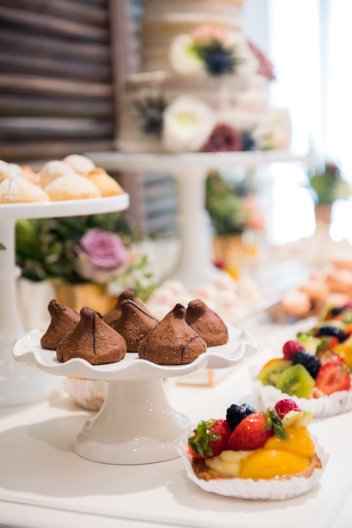 Desserts from a Fall Boho Chic Baby Shower on Kara's Party Ideas | KarasPartyIdeas.com (8)