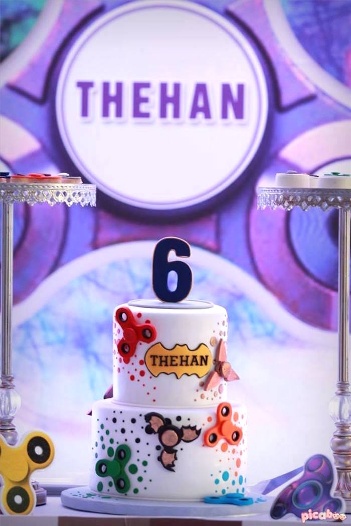 Kara's Party Ideas Fidget Spinner Themed Birthday Party | Kara's ...
