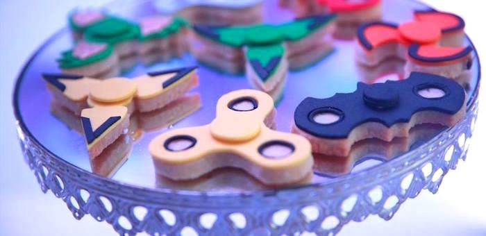 Fidget Spinner Birthday Party on Kara's Party Ideas | KarasPartyIdeas.com (2)