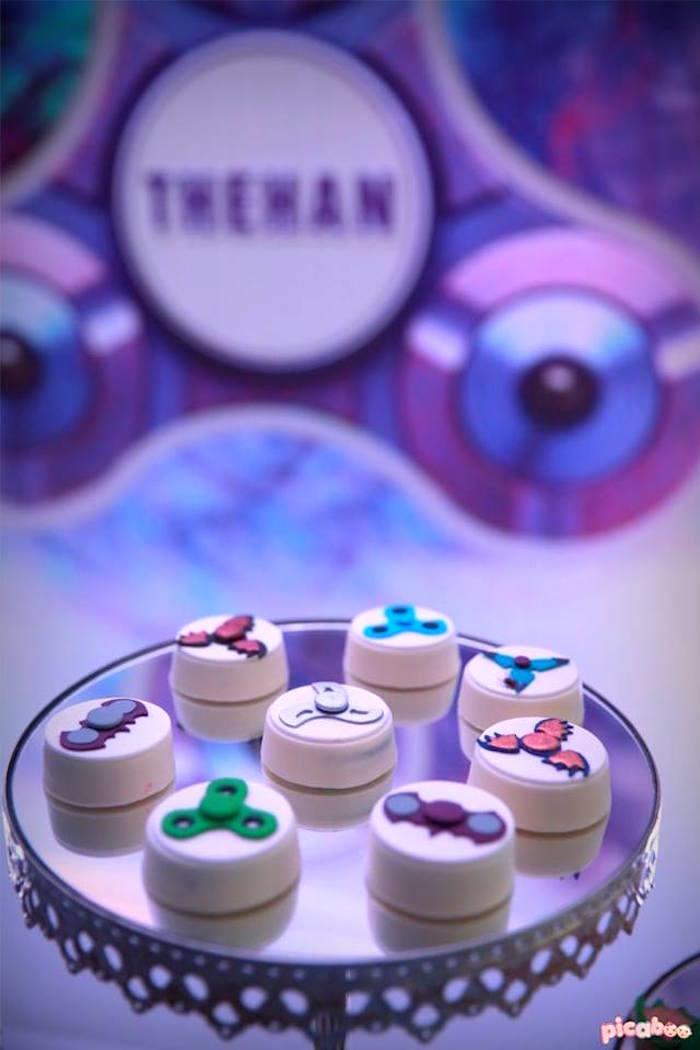 Kara S Party Ideas Fidget Spinner Themed Birthday Party