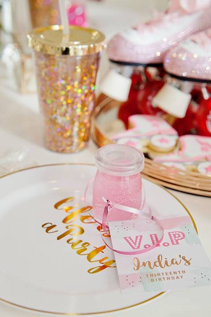 Favors from a Floral Disco Party on Kara's Party Ideas | KarasPartyIdeas.com (7)