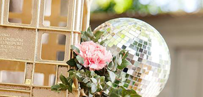 Floral Disco Party on Kara's Party Ideas | KarasPartyIdeas.com (4)