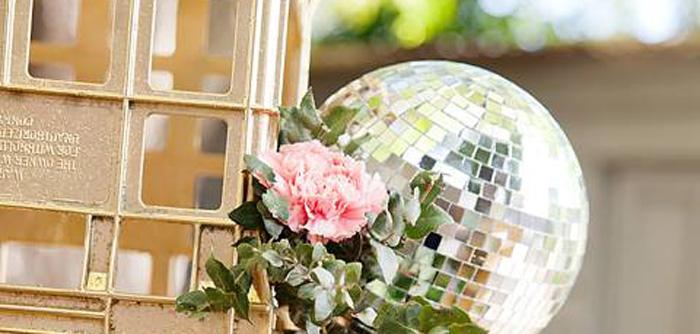 Floral Disco Party on Kara's Party Ideas | KarasPartyIdeas.com (4)
