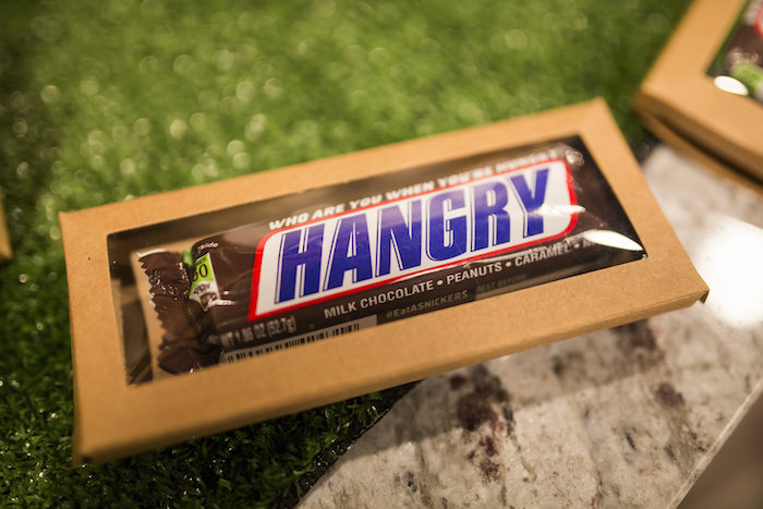 Hangry candy bar form a Football Kickoff Party on Kara's Party Ideas | KarasPartyIdeas.com (32)