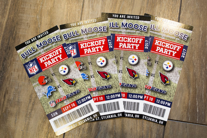 Game Ticket Party Invite from a Football Kickoff Party on Kara's Party Ideas | KarasPartyIdeas.com (43)