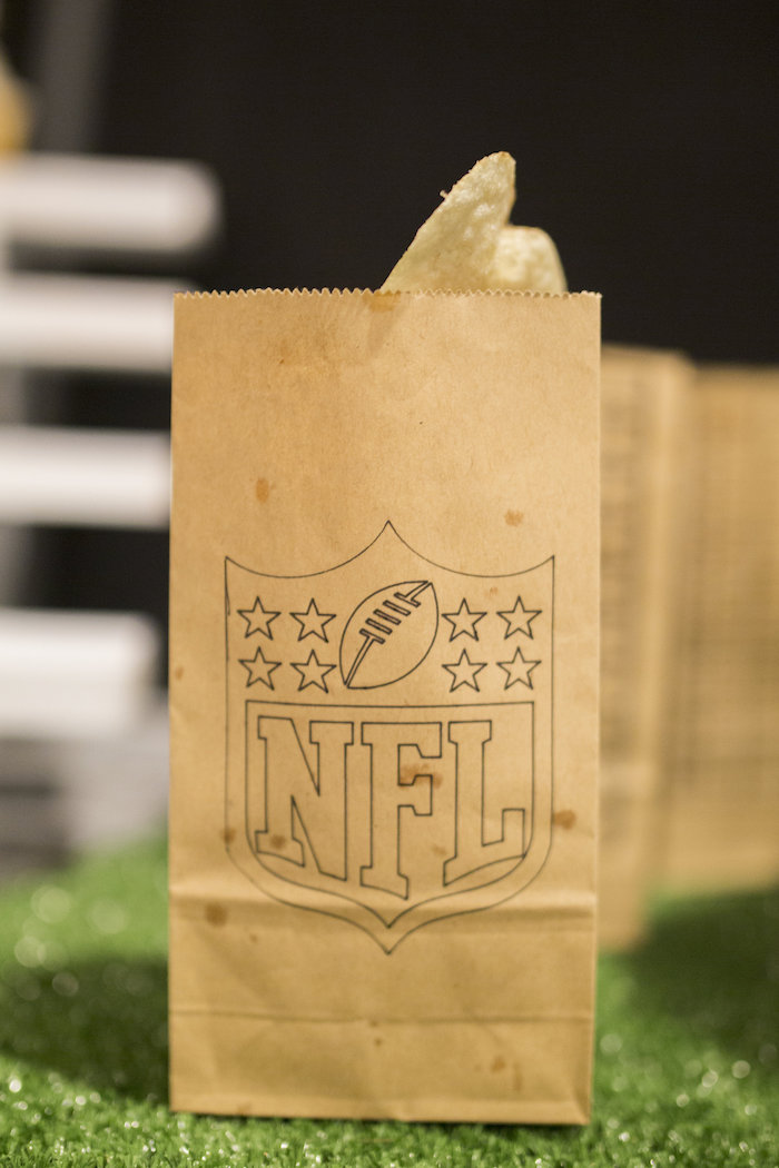 Snack bag from a Football Kickoff Party on Kara's Party Ideas | KarasPartyIdeas.com (23)