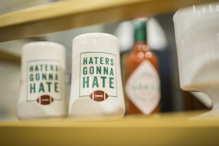 Haters Gonna Hate Mugs from a Football Kickoff Party on Kara's Party Ideas | KarasPartyIdeas.com (9)