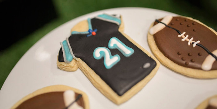 Football Kickoff Party on Kara's Party Ideas | KarasPartyIdeas.com (4)