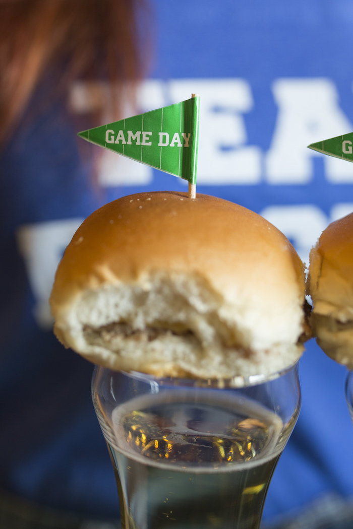 Game Day Slider from a Football Kickoff Party on Kara's Party Ideas | KarasPartyIdeas.com (36)