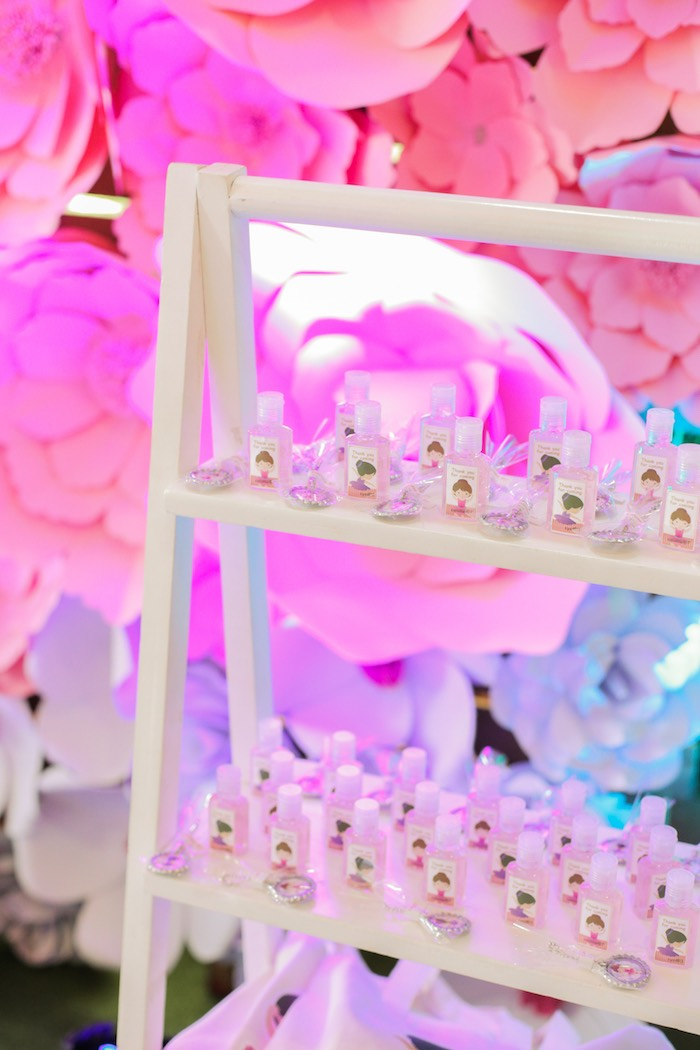 Favors from a Garden Ballerina Birthday Party on Kara's Party Ideas | KarasPartyIdeas.com (18)