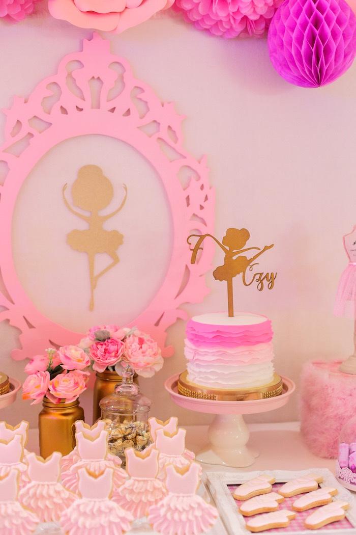 Kara S Party Ideas Garden Ballerina Birthday Party Kara
