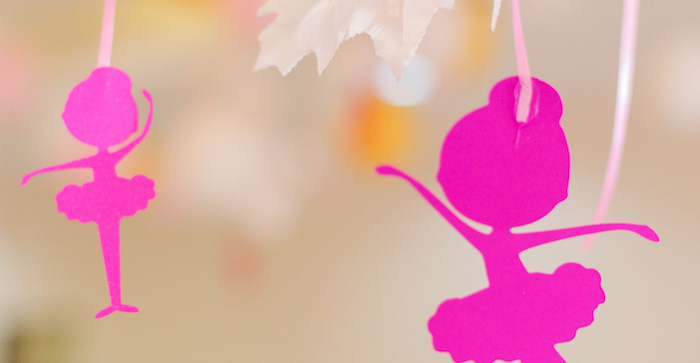 Garden Ballerina Birthday Party on Kara's Party Ideas | KarasPartyIdeas.com (5)