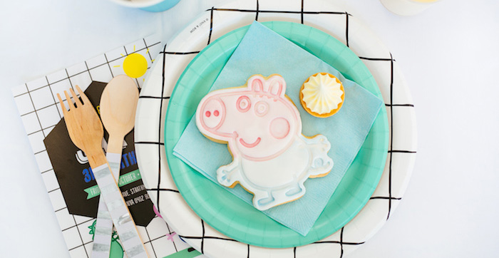 George Pig Birthday Party on Kara's Party Ideas | KarasPartyIdeas.com (2)