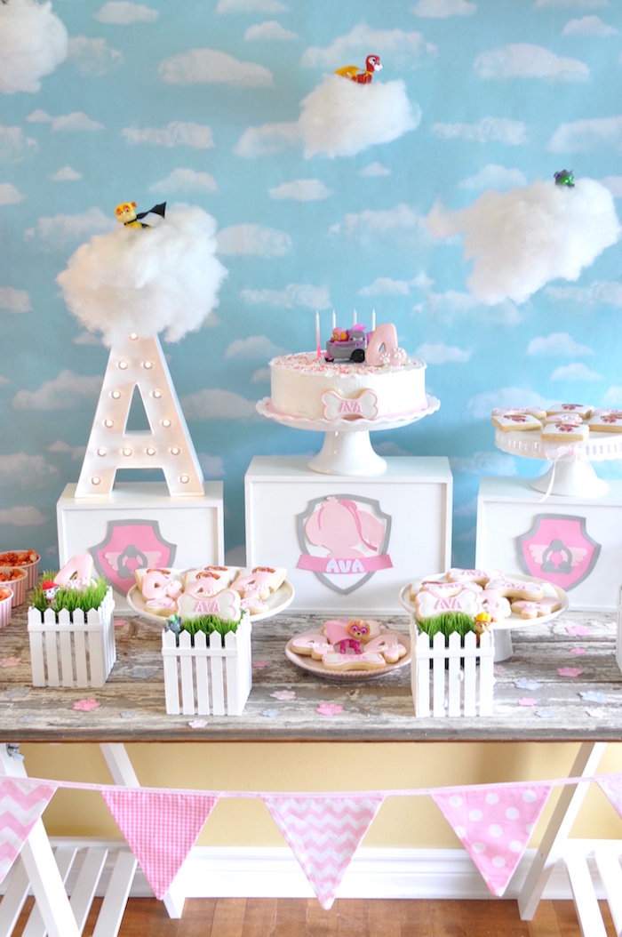 Girly Paw Patrol Birthday Party on Kara's Party Ideas | KarasPartyIdeas.com (2)