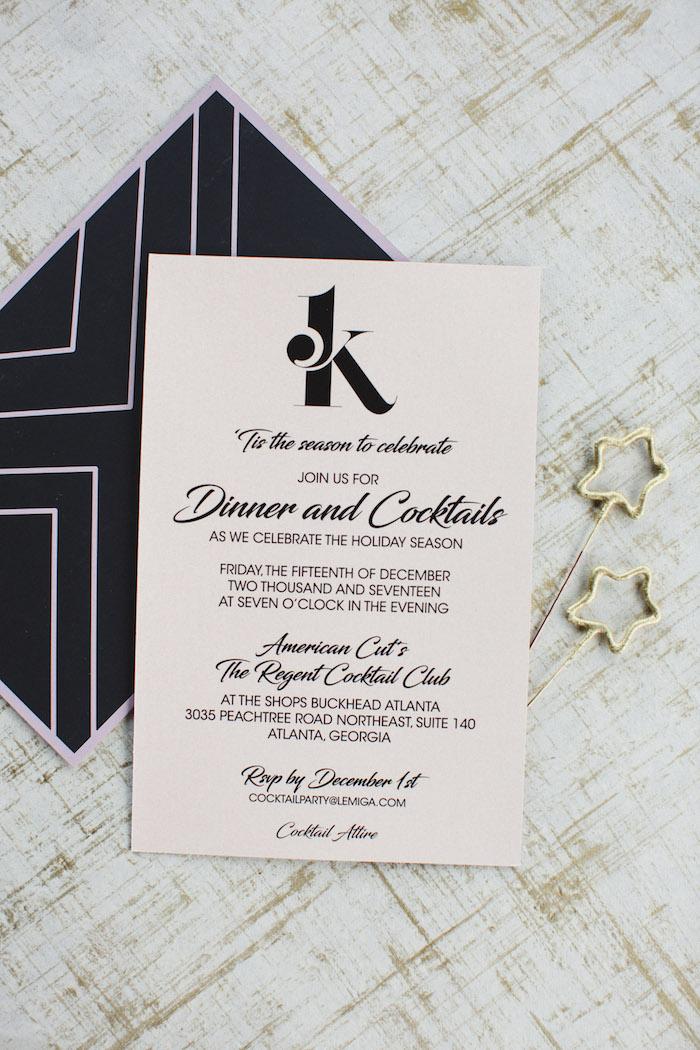 Invitation from a Glam Holiday Progressive Dinner on Kara's Party Ideas | KarasPartyIdeas.com (42)