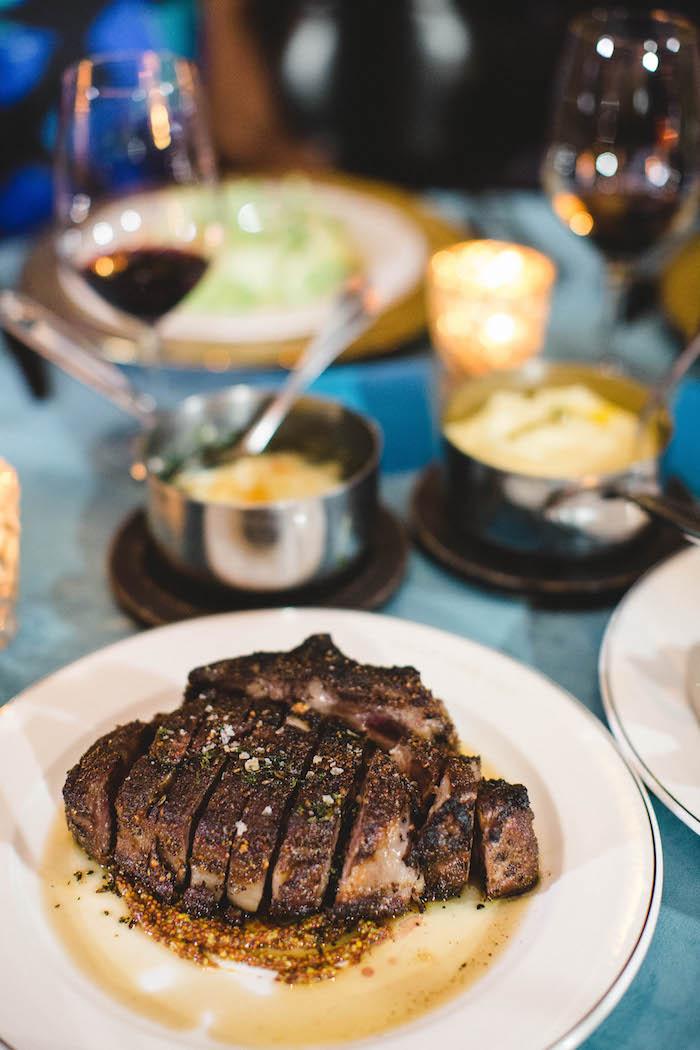Meat from a Glam Holiday Progressive Dinner on Kara's Party Ideas | KarasPartyIdeas.com (15)