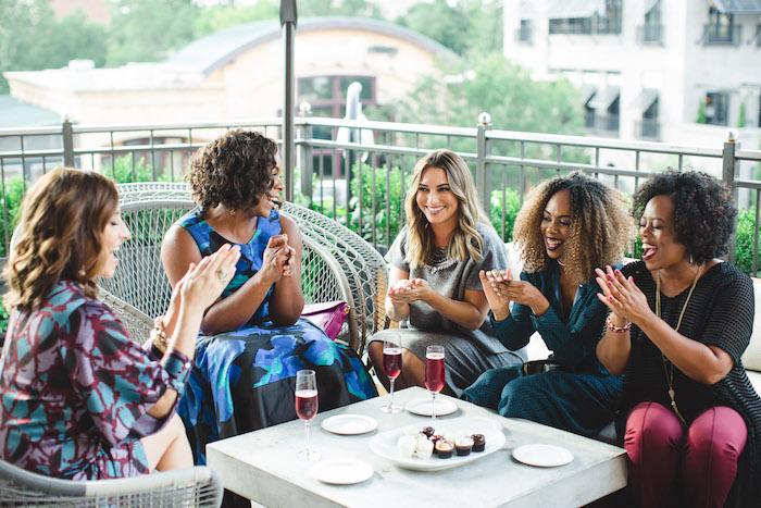 Glam Holiday Progressive Dinner on Kara's Party Ideas | KarasPartyIdeas.com (8)