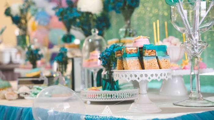 Glamorous Under the Sea Birthday Party on Kara's Party Ideas   KarasPartyIdeas.com (16)