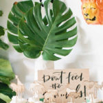 Jungle 1st Birthday Party on Kara's Party Ideas | KarasPartyIdeas.com (1)