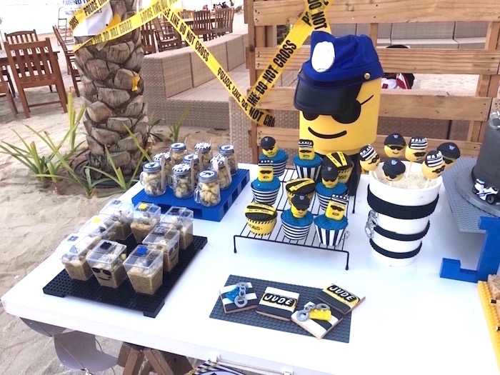 Karas Party Ideas Lego Police Birthday Party Karas Party Ideas