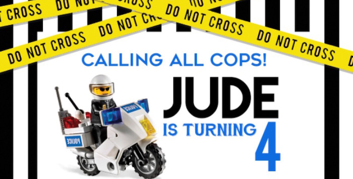 Lego Police Birthday Party on Kara's Party Ideas | KarasPartyIdeas.com (2)