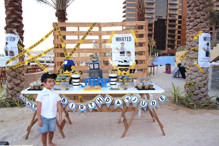 Lego Police Birthday Party on Kara's Party Ideas | KarasPartyIdeas.com (23)