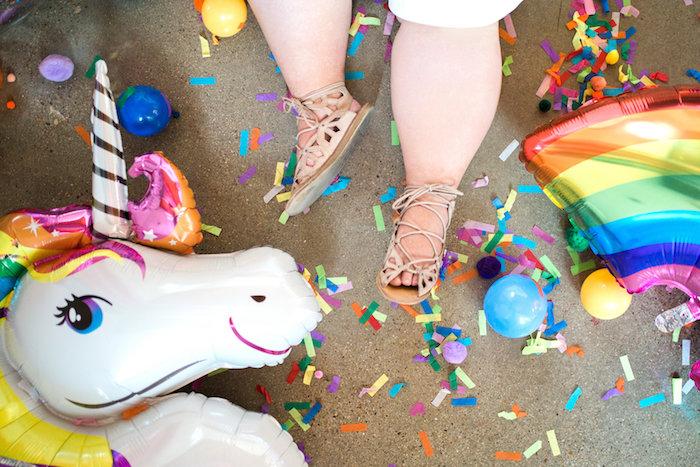 Lisa Frank Inspired Rainbow Party on Kara's Party Ideas   KarasPartyIdeas.com (9)