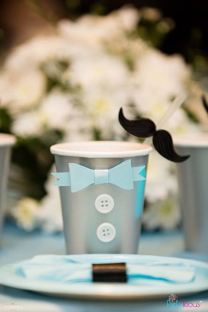 Little Man Cup from a Little Man Birthday Party on Kara's Party Ideas | KarasPartyIdeas.com (7)
